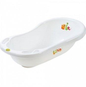 Ванночка детская Maltex Дино, белая, 100 см